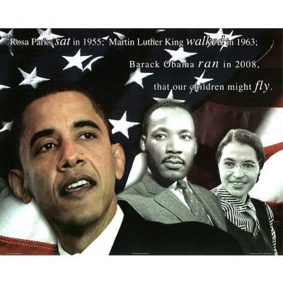 Zachary Brazdis Barack Obama Our Children Will Fly Art Print Poster