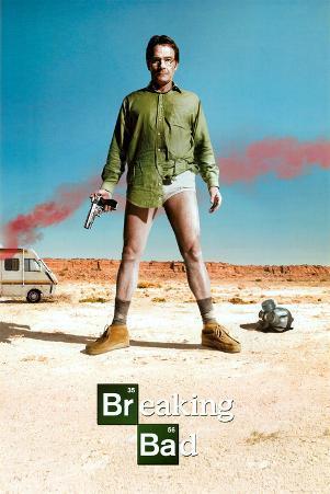 Breaking Bad Bryan Cranston TV Poster Print