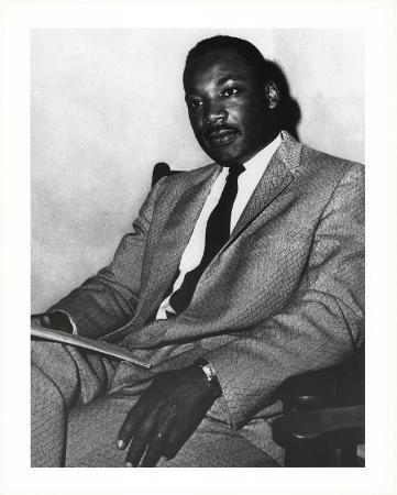 Martin Luther King Jr Portrait Art Print Poster
