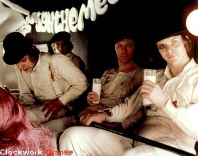Clockwork Orange Alex Korova Milk Movie Poster Print