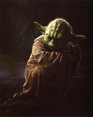 Star Wars Movie Yoda Glossy Photo Photograph Print