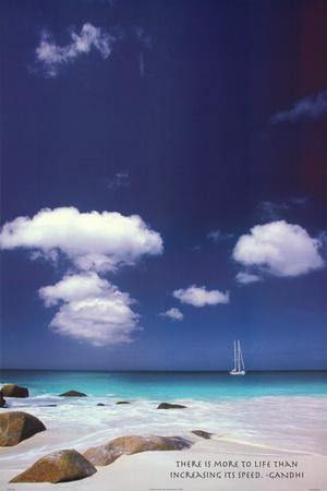 Ocean Reflections Art Print Poster