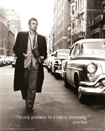 James Dean (Immortality) Movie Poster Print