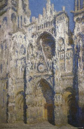 Claude Monet (Cathedral of Rouen) Art Poster Print