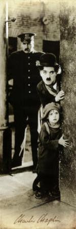 The Kid Movie Charlie Chaplin Jackie Coogan Door Poster Print