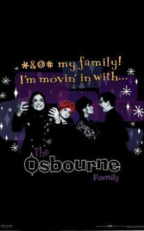 The Osbourne Family (Group) TV Poster Print