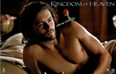 Kingdom of Heaven Movie (Orlando Bloom Shirtless) Poster Print