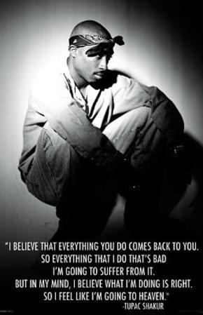 Tupac Shakur Going to Heaven Music Poster Print