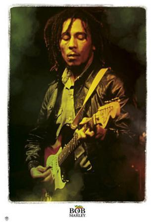 Bob Marley Legendary Music Poster Print