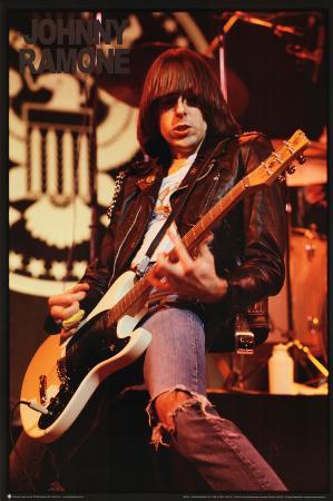 Johnny Ramone (Live) Music Poster Print