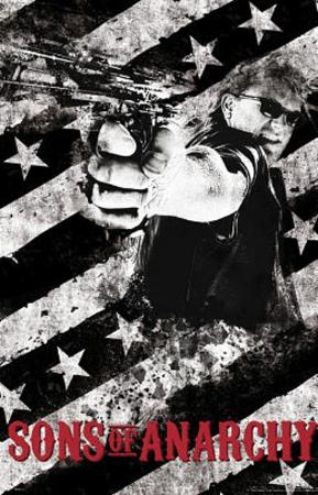 Sons of Anarchy Gun TV Poster Print