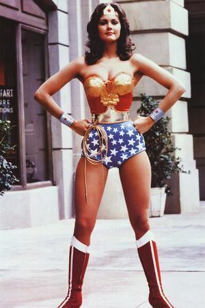 Lynda Carter as Wonder Woman TV Poster Print