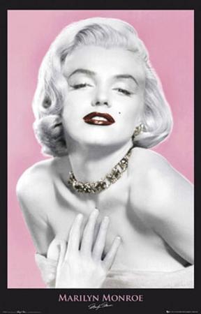 Marilyn Monroe (Seduce, Color) Movie Poster Print