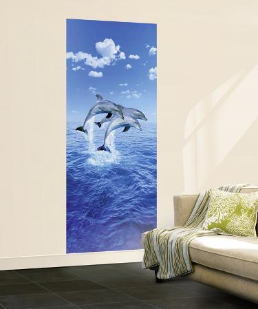 Steve Bloom Three Dolphins Mural