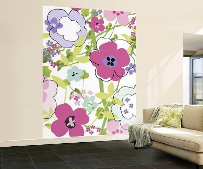 Floral Composition Huge Wall Mural Art Print Poster