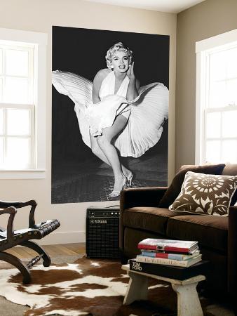 Marilyn Monroe The Legend by Sam Shaw Movie Mural