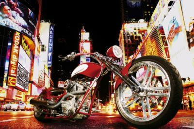 Todd Latimer (Midnight Rider, Motorcycle) Art Poster Print