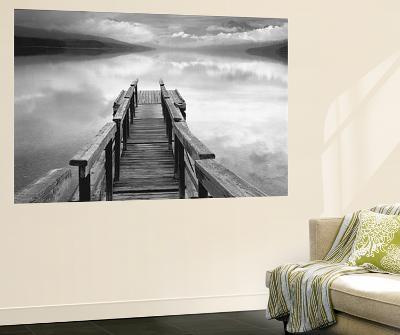Gary Faye Infinity Dock on Water Mural