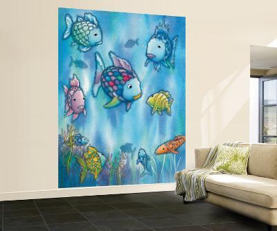 Marcus Pfister The Rainbow Fish Huge Wall Mural Art Print Poster