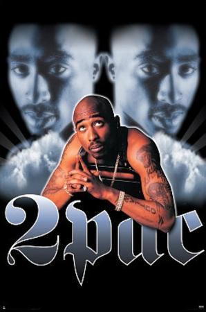 Tupac Shakur Portrait Music Poster Print