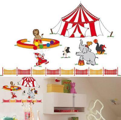 Circus Circus 11 Wall Stickers
