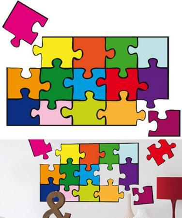 Puzzle 22 Wall Stickers