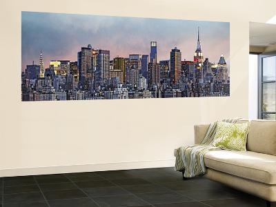 Hank Gans Manhattan Skyline New York City Wall Mural