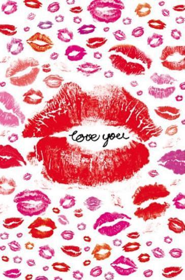 i love u lips