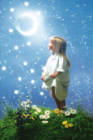La Nuit Enchantée (Night Magic) Art Poster Print