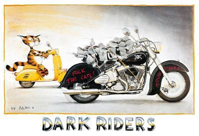 Alex Rinesch (Dark Riders) Art Poster Print