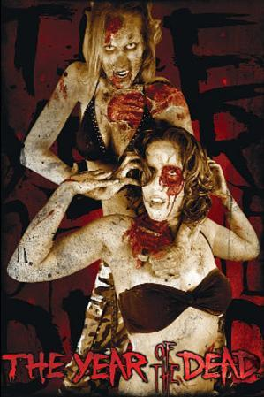 Year of the Dead Two Girls Art Poster Print