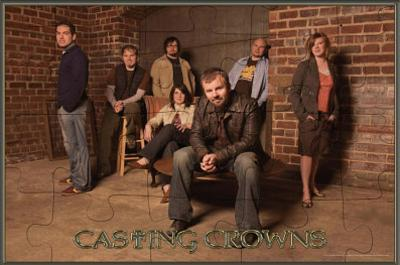 Casting Crowns Group Music Poster Print
