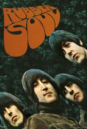 The Beatles Rubber Soul 3-D Lenticular Music Poster Print