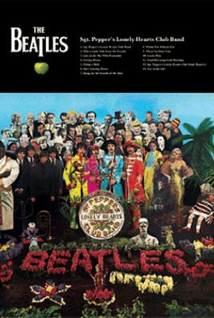 The Beatles (Sgt. Pepper's Lonely Hearts Club Band) 3-D Music Poster Lenticular Print