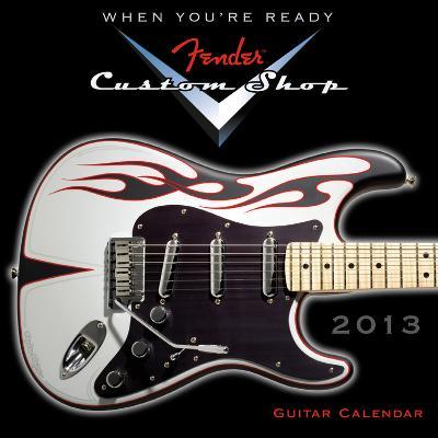 Fender™ Custom Shop Guitar - 2013 12-Month Mini Calendar