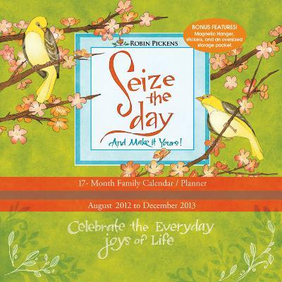 Seize the Day - 2013 17-Month Wall Planner