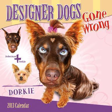 Designer Dogs Gone Wrong - 2013 12-Month Calendar
