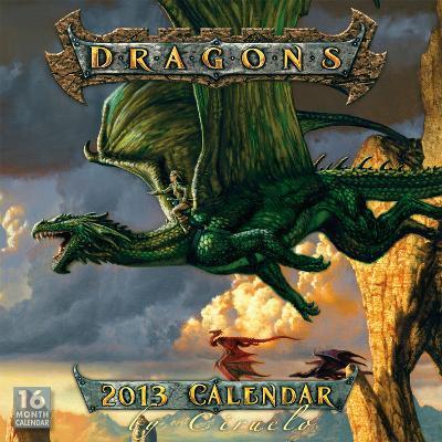 Dragons by Ciruelo - 2013 16-Month Calendar