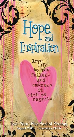 Year of Hope and Inspiration - 2013 2 Year Plus Pocket Planner