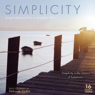 Simplicity   - 2013 16-Month Calendar