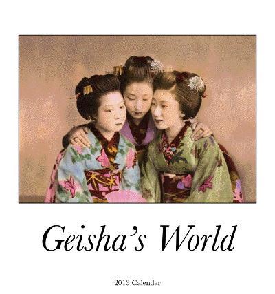 Geisha  - 2013 Easel/Desk Calendar