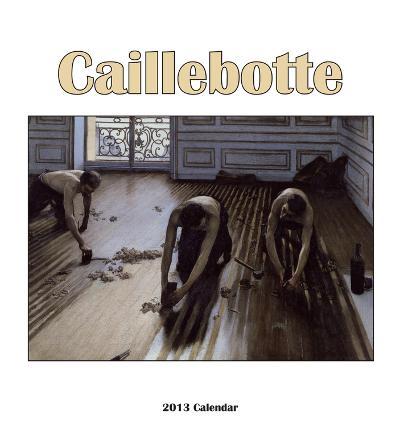 Gustav Caillebotte - 2013 Easel/Desk Calendar