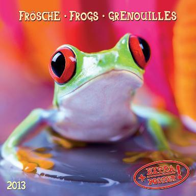 Frogs - 2013 Wall Calendar