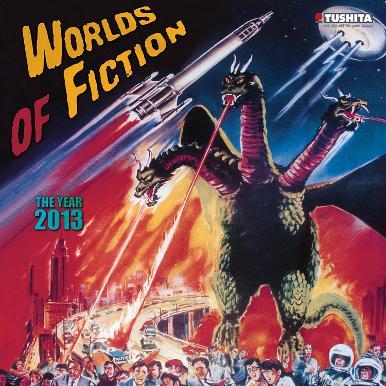 Worlds of Fiction - 2013 Wall Calendar