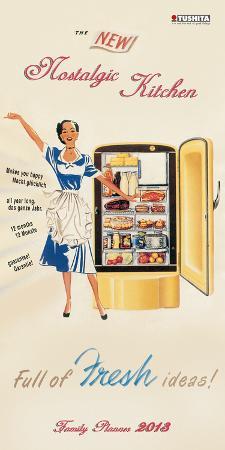Nostalgic Kitchen - 2013 Planner & Organizer