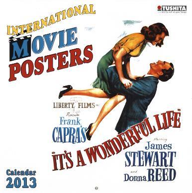 Movie Posters - 2013 Wall Calendar