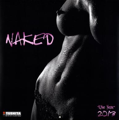 Naked - 2013 Wall Calendar