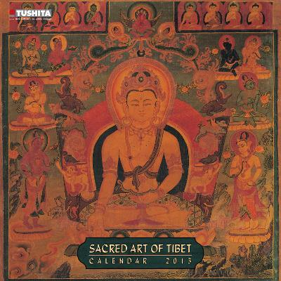 Sacred Art of Tibet  - 2013 Wall Calendar