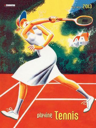 Tennis - 2013 Décor Calendar