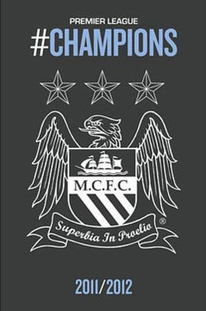 Manchester City 2011-12 Premier League Champions Crest